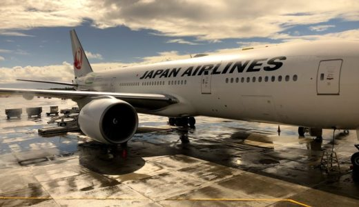 【JL搭乗記】JL789 2018/8 HNL-NRT【日本航空(JAL)エコノミークラス】