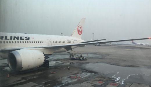 【JL搭乗記】JL20 2016/12 PEK-HND【日本航空(JAL)ビジネスクラス】